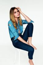 Current s/s'15 Topshop campaign with Cara Delevingne