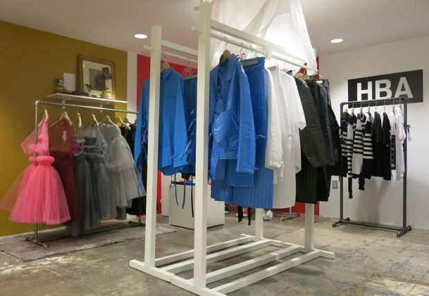 DSM showroom showcasing emerging designers