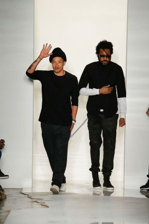 Dao-Yi Chow (left) and Maxwell Osborne, designers of the Public School brand