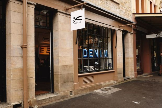 Denham's shop in Sidney is located at The Rocks area