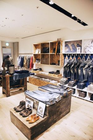 Denham's reopened store in the Omotesando complex