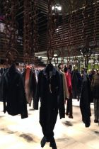 Denim installation at the Denim Italiano section