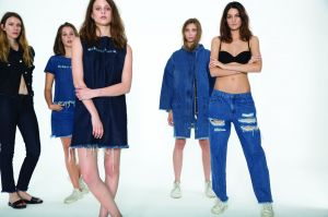 Denim pieces from the collection
