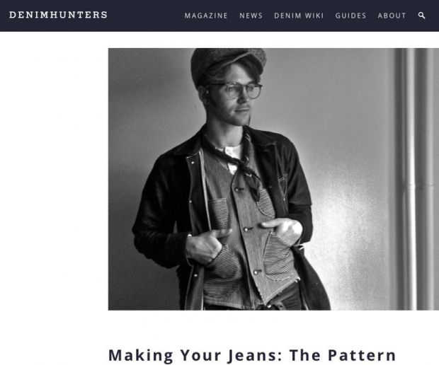 Denimhunters.com: Making your own jeans
