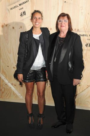 Designer Isabel Marant with Margareta van den Bosch, Creative Advisor at H&M