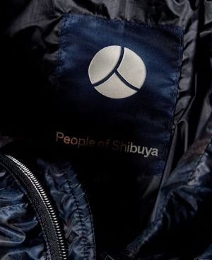 Detail of one of the brand jackets