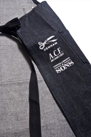 Detail of the Denham Tailor's Apron