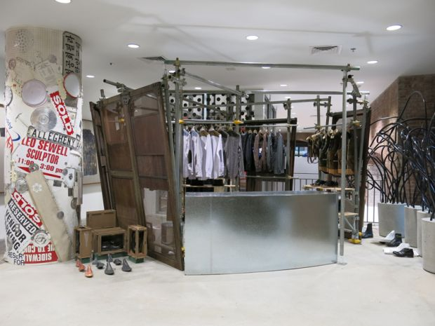 Dover Street Market opened its doors in New York