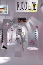 Draft of the new Ruco Line flagship store