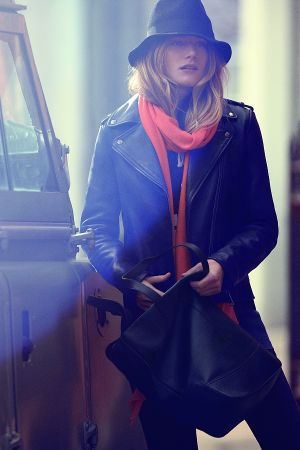 Dree Hemingway, the new face of Gant FW 2013