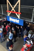 Entrance at Blueprint during the Amsterdam Denim Days