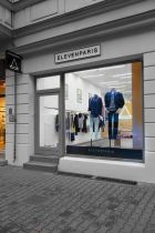 Entrance of the new ElevenParis store