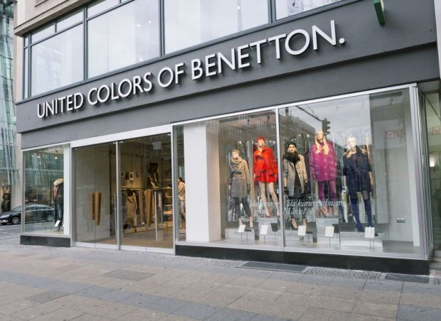 "Exterior of the new Benetton ""On Canvas"" store in Berlin"