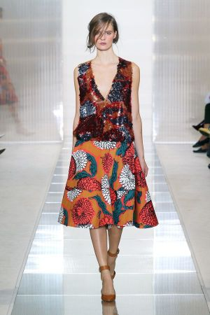 Famous for its iconic prints: Marni (picture from s/s 2013