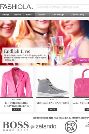 Fashiola.de new fashion online platform in Germany