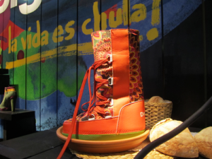 Footwear is a growing segment for Desigual