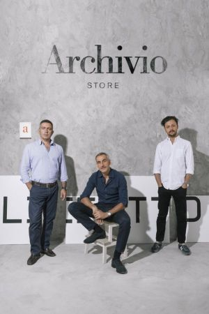 From left: co-founders Stefano Zaccaria, Giuseppe Bistoni & Antonio Civita (co-founder/creative director)