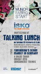 Future of denim will be discussed at the Talking Lunch at Munich Fabric Start