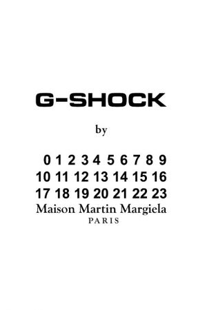 G-Shock cooperate with Margiela