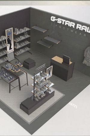 G-Star Raw shop-in-shop concept