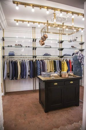 Gant Rupper's first store in Paris,