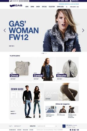 Gas Jeans women web shop