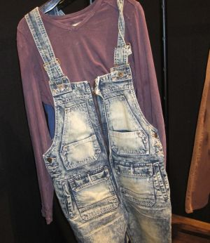 Grindhouse denim overall