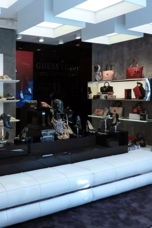 Guess reopens shoe store in Milan.