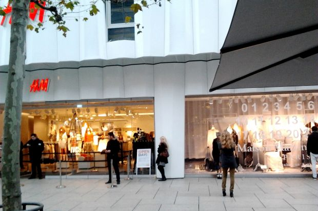H&M Frankfurt saw the launch of Maison Martin Margiela collection launch