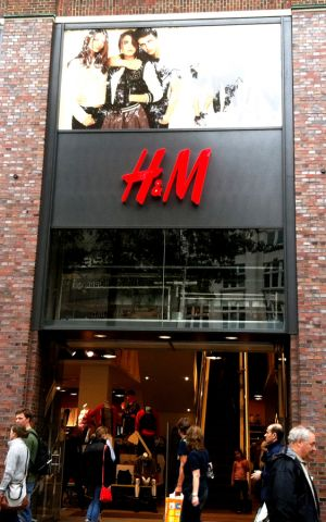 H&M opens in India