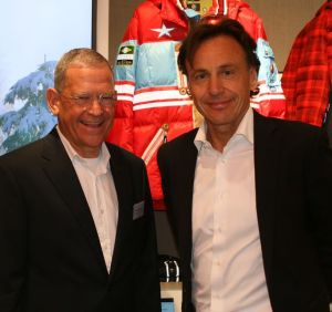 Hanns-Peter Cohn, Head of Shop Segment Vitrashop Group with Ronald Focken, Managing Director, Serviceplan Group
