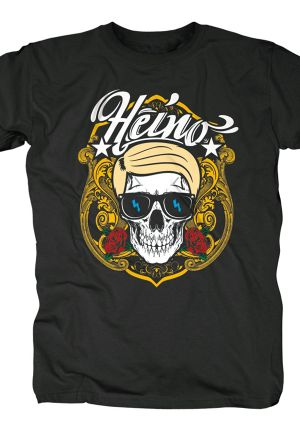 Heino gets Merchandise T-Shirt by Bravado