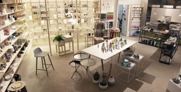 Homeware and beauty section at Goodhood