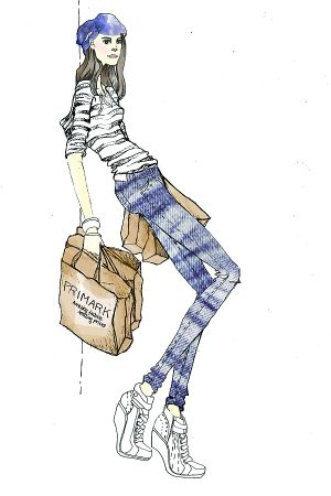 Illustration: Primark shopping