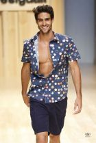Image of Desigual SS15 runway show in Barcelona last January