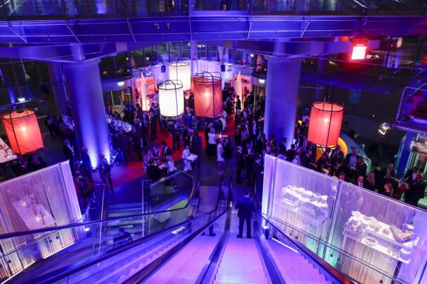 Image of the evening gala where the fashion industry met