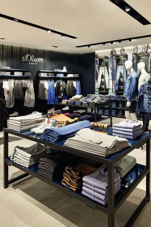 Impression of the new S.Oliver store in Sindelfingen