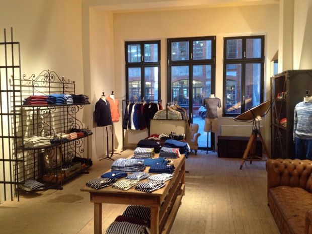 Impression from inside the store