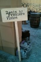 Impression of the SI booth at Denim by PV