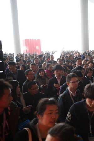 Impression of the first day at CHIC in Shanghai