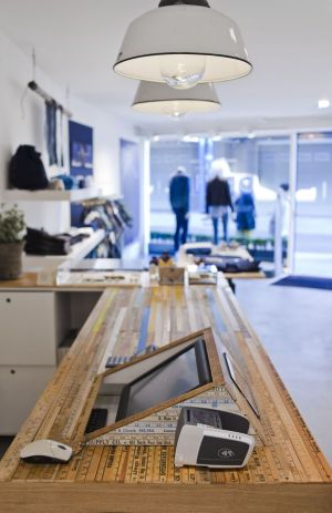 Impression of the new Denham store in Antwerp