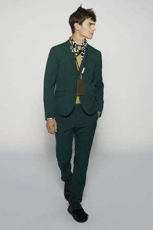 Impression of the new Marni Men SS15 collection