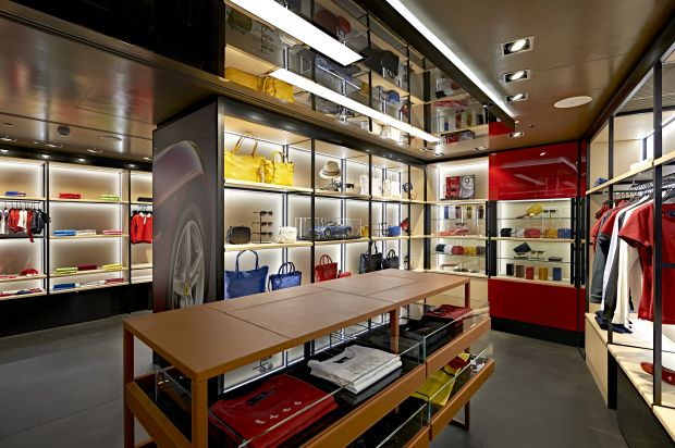 Impression of the store inside