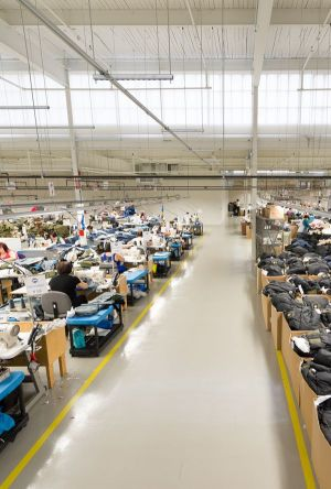 canada goose factory location