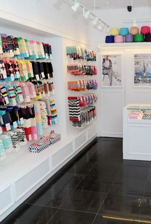 Inside the new Happy Socks store on New York's West Broadway