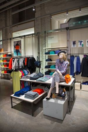 Inside Benetton's new On Canvas store in Moscow