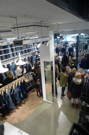 Inside G-Star's new Women Store in Munich