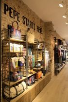Inside Pepe Jeans' new store in Milan