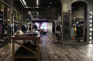 Inside Replay's concept store in Cologne