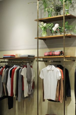 Inside Sunspel's new womenswear store in London